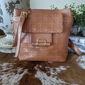 Antonio Melani Leather Crossbody Handbag